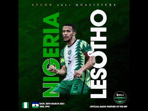 Nigeria v Lesotho: Post Match.