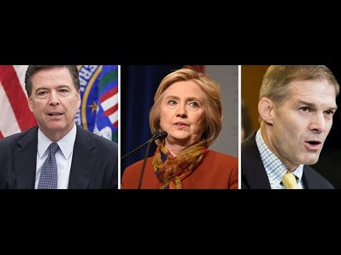 Jim Jordan Asks FBI Director James Comey Why Hes Covering Up Hillary Clinton's Lies