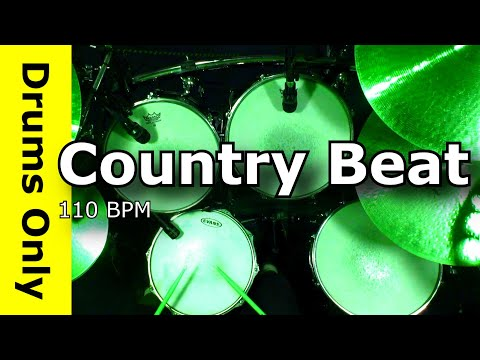 Backing Track - Country Train Beat 110 BPM