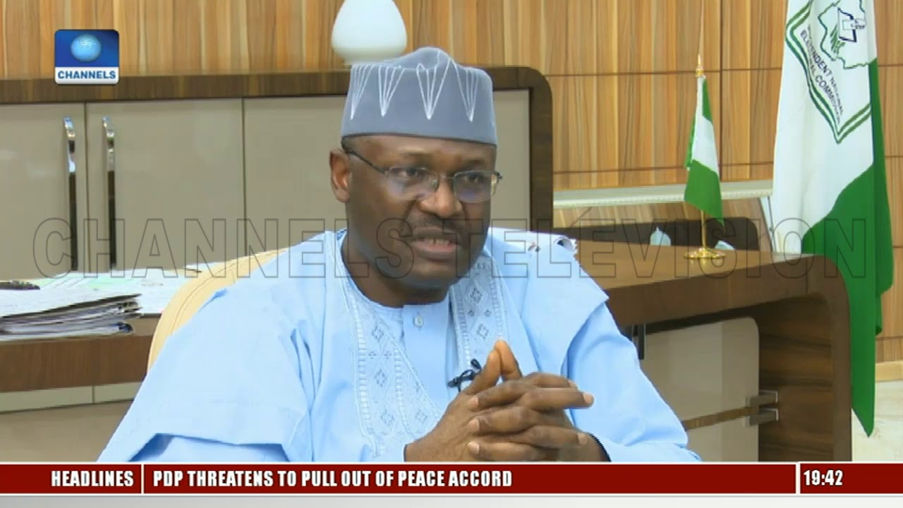 2019 Elections Will Be Free, Fair & Credible, INEC Chairman Assures Nigerians