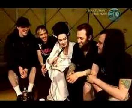 The Used on Channel V Interview