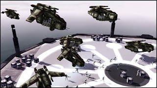 KAMINO AIR ASSAULT - Star Wars: Galaxy at War Mod Gameplay