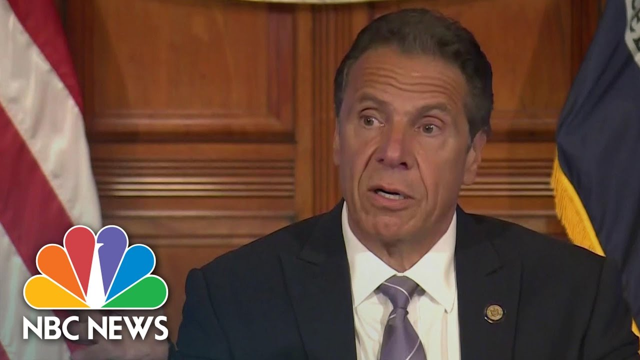 Gov. Cuomo Calls Buffalo Police Incident 'Fundamentally Offensive And Frightening' | NBC News NOW