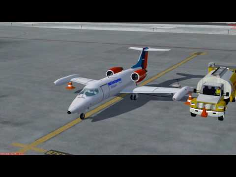FSW Lear Jet supported by MCE