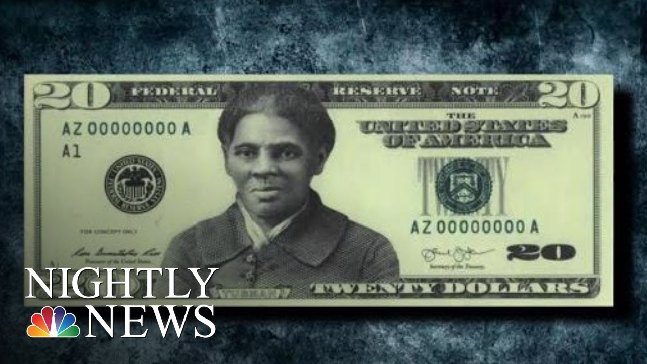 Controversy Over Delayed 20 Bill Featuring Harriet Tubman Nbc Nightly News Youtube