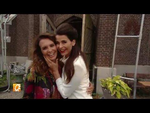 Een kijkje op de set van First Kiss met Leontine e - RTL BOULEVARD