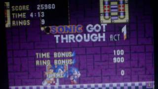 Lets Play Sonic 3 And Knuckles Episode 10; Stop That Death Egg.MP4