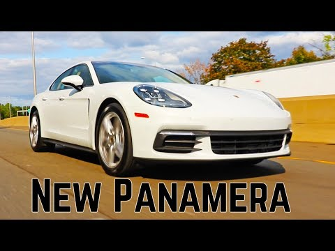 New 2018 Porsche Panamera 4 -  971 second generation