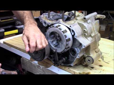 Honda Rancher 420 crankshaft part 1 of 4 engine rebuild