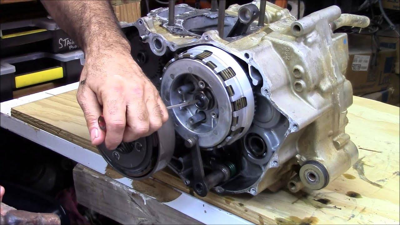 honda rancher 420 crankshaft part 1 of 4 engine rebuild [ 1280 x 720 Pixel ]