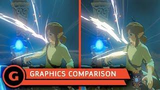 Zelda: Breath Of The Wild - Wii U vs Switch Graphics Comparison