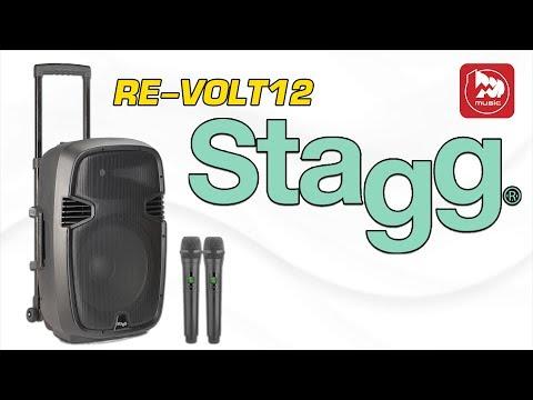 STAGG RE-VOLT 12 Активная колонка с питанием от аккумулятора