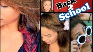 6 Easy Back to School Hairstyles!  | AndreasChoice Thumbnail