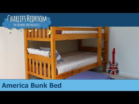 America Bunk Bed - Charlies Bedroom