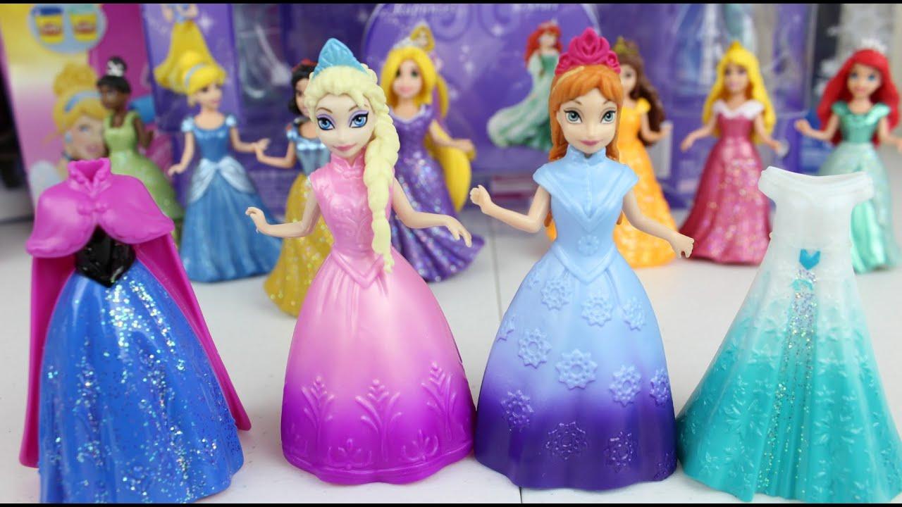 Muecas Frozen Vestidos Magicos Frozen Anna y Elsa Se Prestan