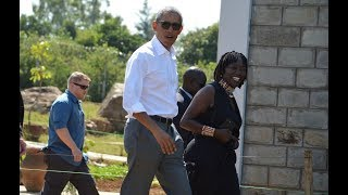 LIVE: Barack Obama arrives at the Sauti Kuu centre