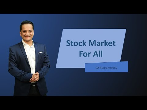 STOCK MARKET FOR ALL FREE WEBINAR_NIFTY MASTER CA Rudramurthy BV