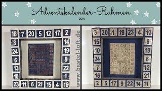 Adventskalender - Rahmen - Stampin