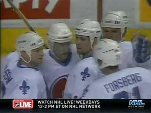 1995 NHL ECQF New York Rangers vs Quebec Nordiques (Part 1 of 3)