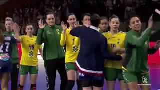 France-Brésil : les championnes du monde 2017 à Lauga