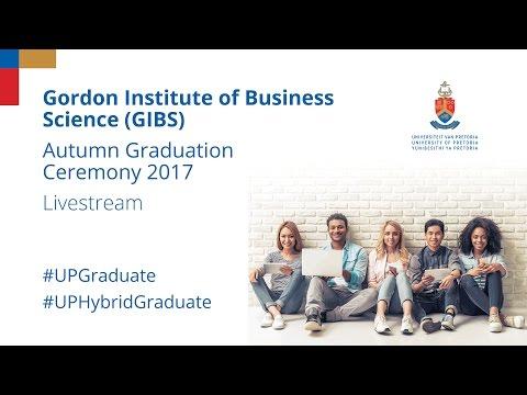 Gibs Graduation Ceremony 2017 30 March 15:00