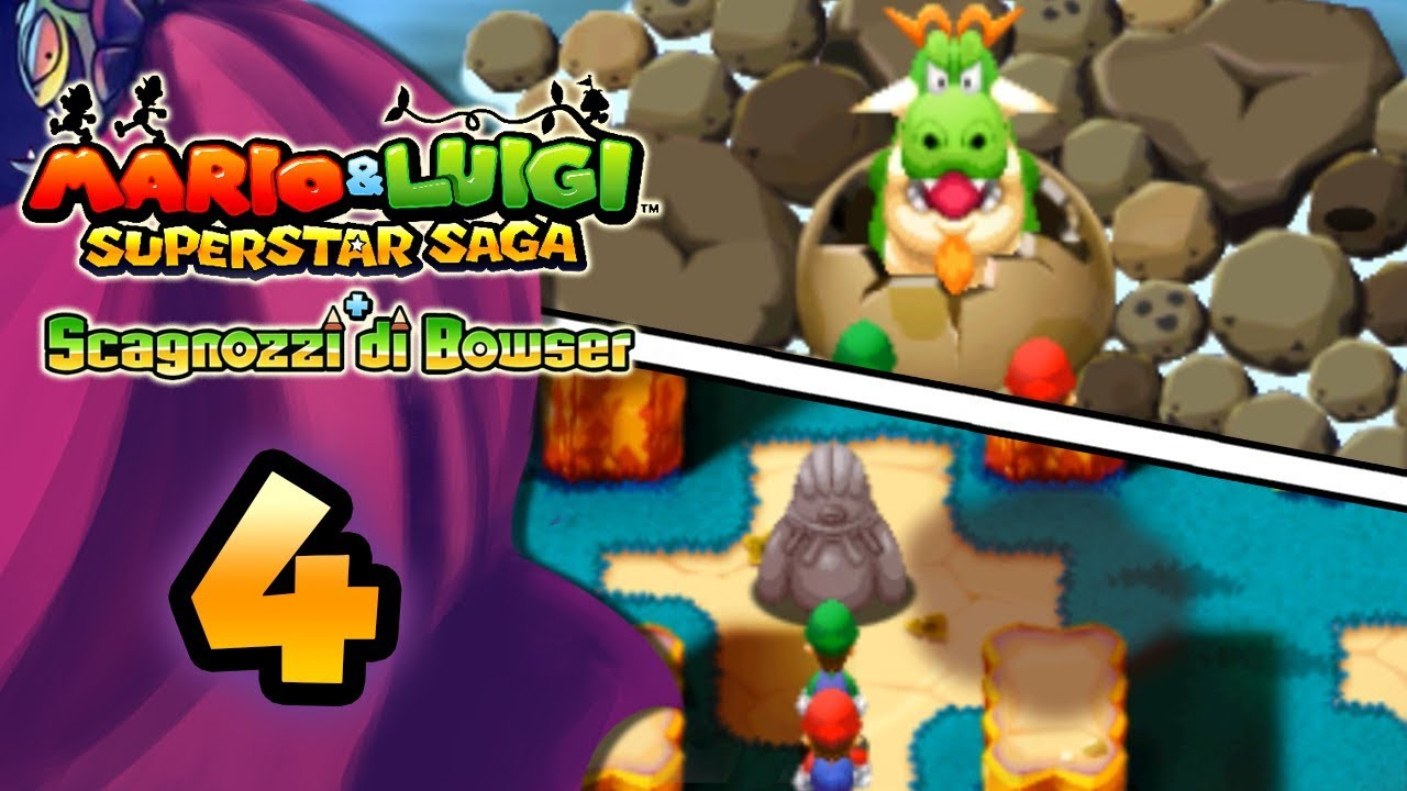 c3aa4fbb8a519 Mario   Luigi Superstar Saga + Scagnozzi di Bowser ITA  Parte 4 - Monte  Tiritera