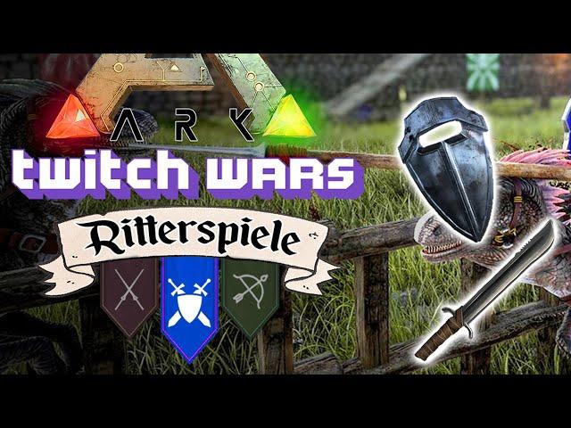 Die Ritterspiele: Schwert & Schild 🦖 ARK Twitch Wars #06 [Lets Play Deutsch]