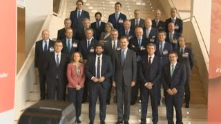 """IEF señala ante el Rey lo """"peligroso"""" de la situación en Cataluña"""