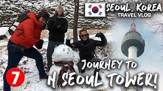 Seoul, Korea Travel Vlog 07: Journey To N Seoul Tower!