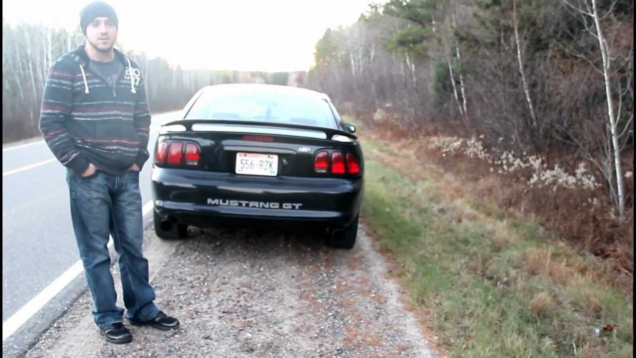 small resolution of  98 ford mustang gt w magnaflow exhaust and o r x pipe youtube