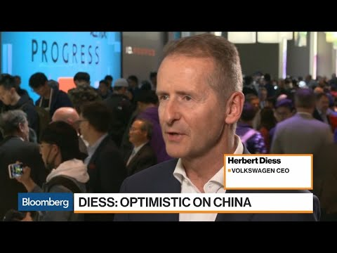 VW CEO Diess Is Optimistic On Second Half Sales In China