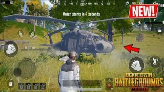 PUBG Mobile GLOBAL 0.14.0 BETA!! NEW Upcoming Features Helicopters, Pirate Ships & More