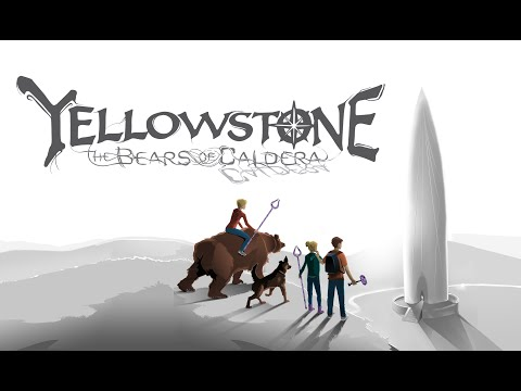 BOOK TRAILER for Yellowstone: The Bears of Caldera