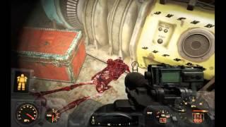 Fallout 4 - 290 - насосная станция ядерный блок и уникальный пистолет локация