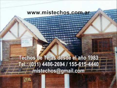 Techos de tejas casa granaderos for Modelos de techos con tejas
