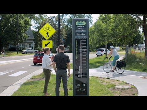 CTS Research Makes an Impact: Bicycle and Pedestrian Counting Initiative