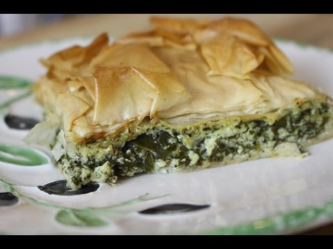 How to make THE BEST Greek Spinach Pie / SPANAKOPITA