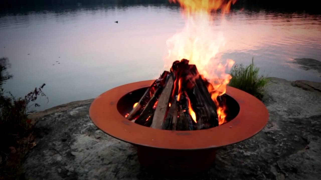 - Fire Pit Art® - Saturn Fire Pit - YouTube