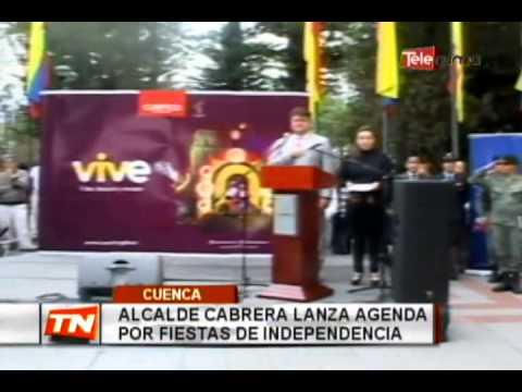Alcalde Cabrera lanza agenda por fiestas de independencia