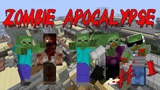 Minecraft Machinima: Зомби Апокалипсис (1 серия)