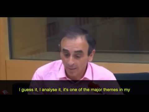 Eric Zemmour interview on the coming civil war in France