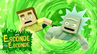 Minecraft: RICK AND MORTY! 👽 (Esconde-Esconde)