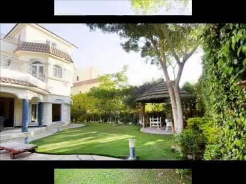 VILLA FOR RENT FURNISHED IN BEVERLY HILLS - OCTOBER CITY - T.G  EGYPT REAL ESTATE