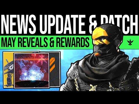 Destiny 2 | MAY UPDATE & REVEAL TEASES! Secret Reward, DLC Content, Catalysts, Super Changes & More! thumbnail