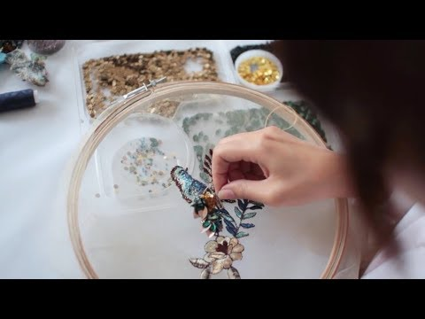 Mischka Aoki Craftsmanship | The Making Of The Fall Winter 2017 18 Couture