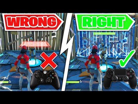 4 Advanced Controller Fortnite Tips I Wish I Knew Earlier! (Fortnite PS4 + Xbox Tips)