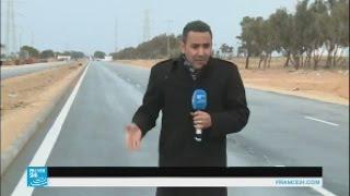 شاهد..حركة منعدمة بمعبر رأس جدير بين تونس وليبيا