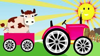 LEARNING FARM ANIMALS FOR KIDS
