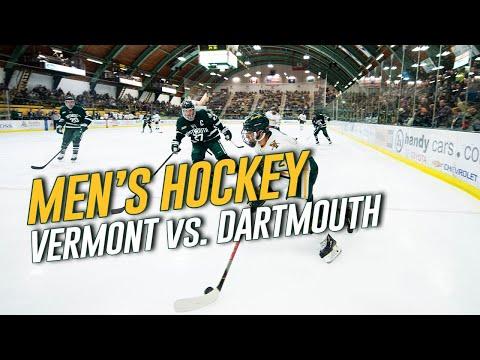 Men's Hockey: Vermont Vs. Dartmouth (1/10/20)