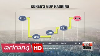 Korea ranks as world's 11th largest economy in 2015: World Bank